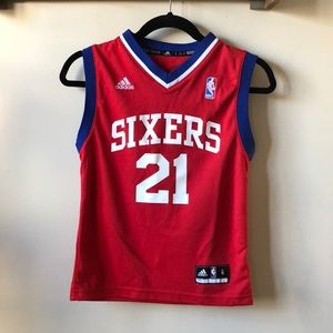 Thaddeus Young Youth Sixers Jersey